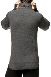 Woolpower Zip Turtleneck 400 - GRAU - XXS - S