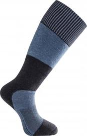 Woolpower NIEUW Skilled Knee High 400 Dark Navy/Nordic Blue