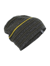 Icebreaker Atom Hat Gritstone/Kale/Kona - One size*