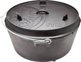 Petromax Dutch Oven ft18 - 17 liter  (met pootjes)