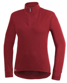 Woolpower Zip Turtleneck 200 - ROT -L-Xl-XXL-XXXL
