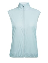 Icebreaker Wmns Rush Vest / DEW/Embossed -Small