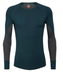 Icebreaker 	Mens 260 Zone LS Crewe / Nightfall - XXLarge