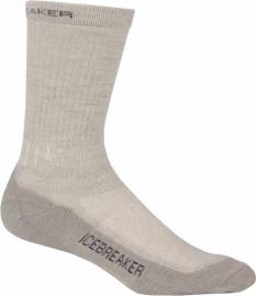 Icebreaker Socks Hike Mid Crew Bone/Oil/Silver (D) - 41-43