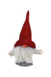Aardmannetje (Tomte) Lukas (25 cm) met rode muts