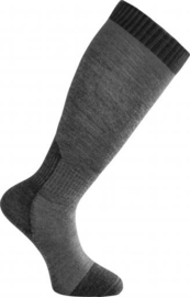 Woolpower NIEUW Skilled Liner Knee High Grey/Dark Grey