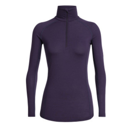 Icebreaker 	Wmns 150 Zone LS Half Zip / Lotus -Small