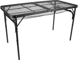 Defa Aluminium gaas tafel twee hoogtes verstelbaar - 120x60cm