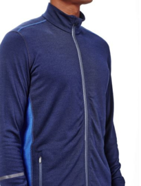 Icebreaker Mens Incline LS Zip Admiral/Cobalt - S-XL