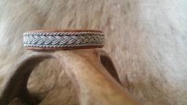 Saami armband AB 272 - Cognac 17 cm