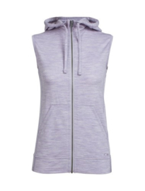 Icebreaker Wmns Dia Hooded Vest Silk Hth -Small