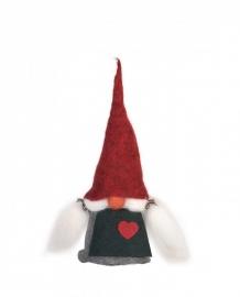 Aardvrouwtje (Tomte) Viktoria (20 cm) met rode muts