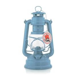 Feuerhand stormlantaarn 26 cm (olielamp) - PASTEL BLAUW
