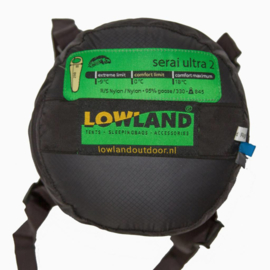 LOWLAND OUTDOOR® Serai Ultra 2 - 875 gr - 230x80 cm 0°C