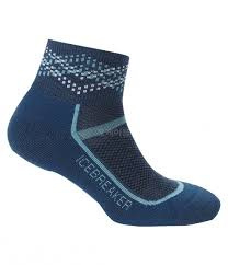 Icebreaker Multisport UL Mini Prussian Blue / Waterfall   (D) - 38-40