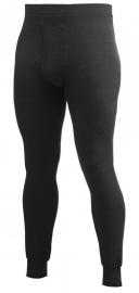 Woolpower Lange Unterhose mit Eingriff (Long Johns) 200 - Schwarz