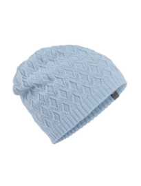 Icebreaker Diamond Line Beanie Light Blue - One Size