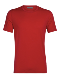 Icebreaker Mens Tech Lite SS Crewe / Rocket - S - M - XL