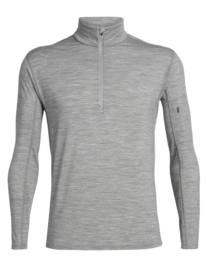 Icebreaker Mens Vultaic LS Half zip / Metro Hthr - Medium