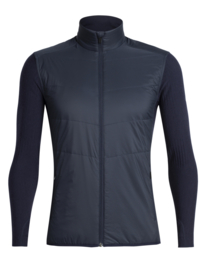Icebreaker Mens Descender  Hybrid Jacket /Midnight Navy  - Medium