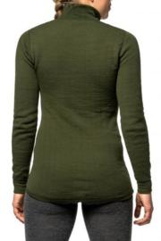 Woolpower Zip Turtleneck 200 - zwart - grijs - dark navy - pine green