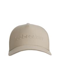 Icebreaker Unisex Logo Hat / British Tan - One Size