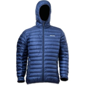 LOWLAND OUTDOOR® OPTIMUM DONSJAS - MEN - HOODY - NAVY - alle maten