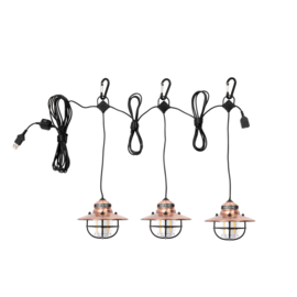 Barebones Edison String Lights - Koper