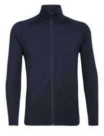 Icebreaker Mens Victory LS Zip / Midnight Navy - S-M-L-XL