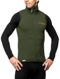 Woolpower Mouwloos Vest 400 - GROEN -XXS