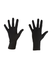Icebreaker Adult 200 Oasis Glove Liners ( touch glove) /Black  - XS - S