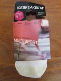 Icebreaker Socks Multi Superlite Micro White/Belize/White (D) -) 41-43