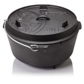 Petromax Dutch Oven ft12 - 14.7 liter  (met pootjes)
