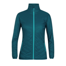 Icebreaker 	Wmns Hyperia Lite Jacket / Kingfisher/ARCTIC TEAL -Small