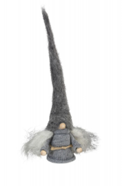 Mama  Tomte - grijze muts - 25 cm