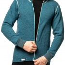 Woolpower Jacke Color Collection (Full Zip Jacket) 400 - Petrol
