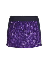 Icebreaker Wmns Comet Shorts lattice sky Aura/Vivid - Medium
