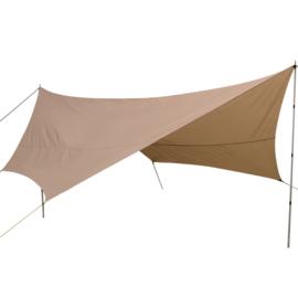 Nigor Parawing - Tarp - 550x550x400 cm Ripstop Polyester - Zand