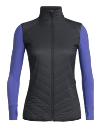 Icebreaker 	Wmns Descender  Hybrid Jacket / Mystic/Midnight Navy - Small