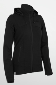 Icebreaker Cascade Plus LS Hood Black -Small