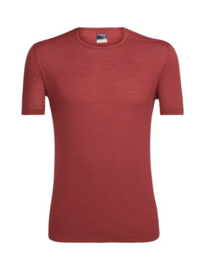 Icebreaker 	Mens Zeal SS Crewe / VINTAGE RED -L-XL