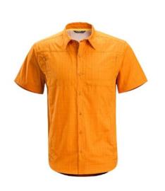 Arcteryx Ridgeline Shirt SS / Summer Squash - Large