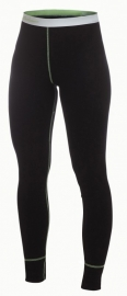 WOOLPOWER LITE Long Johns - dames (Groene stiksels)-XXS-XS