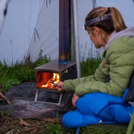 Winnerwell Fastfold Titanium Camping Stove