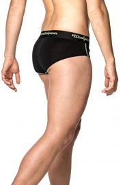 WOOLPOWER LITE Hipster's - dames (groene stiksels) -XS t/m XL