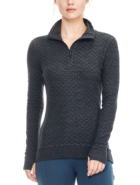 Icebreaker Wmns Affinity Thermo LS HZ Jet -Large