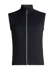 Icebreaker Men Tech Trainer Hybrid Vest / BlackMonsoon - Medium