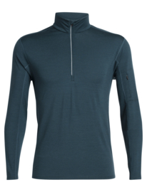 Icebreaker Mens Vultaic LS Half zip / Nightfall - Medium