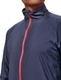 Icebreaker Mens Surge Windbreaker Stealth/Rocket -S-M-XL