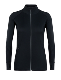 Icebreaker Women Tech Trainer Hybrid Jacket / Black - Small